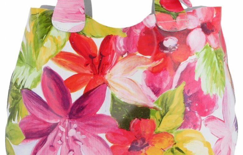 torebka w kwiaty